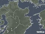 2020年06月20日の大分県の雨雲レーダー