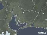 2020年06月21日の愛知県の雨雲レーダー