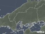 2020年06月21日の広島県の雨雲レーダー
