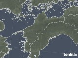 2020年06月21日の愛媛県の雨雲レーダー