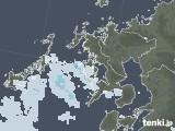 2020年06月21日の長崎県の雨雲レーダー