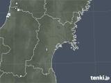 2020年06月21日の宮城県の雨雲レーダー