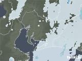 2020年06月22日の愛知県の雨雲レーダー