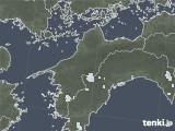 2020年06月22日の愛媛県の雨雲レーダー
