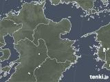 2020年06月22日の大分県の雨雲レーダー