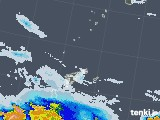 2020年06月22日の鹿児島県(奄美諸島)の雨雲レーダー