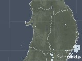 2020年06月22日の秋田県の雨雲レーダー