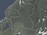 2020年06月23日の岐阜県の雨雲レーダー
