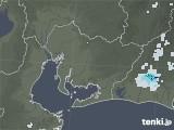 2020年06月23日の愛知県の雨雲レーダー