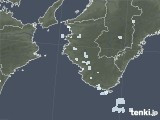 2020年06月23日の和歌山県の雨雲レーダー