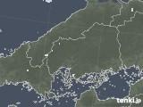 2020年06月23日の広島県の雨雲レーダー