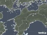 2020年06月23日の愛媛県の雨雲レーダー