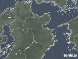 2020年06月23日の大分県の雨雲レーダー