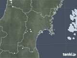 2020年06月23日の宮城県の雨雲レーダー