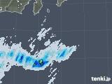 2020年06月24日の東京都(伊豆諸島)の雨雲レーダー