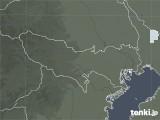 2020年06月24日の東京都の雨雲レーダー