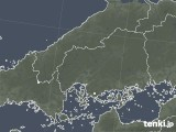 2020年06月24日の広島県の雨雲レーダー