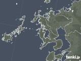 2020年06月24日の長崎県の雨雲レーダー