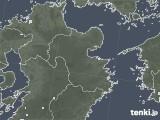 2020年06月24日の大分県の雨雲レーダー