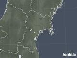 2020年06月24日の宮城県の雨雲レーダー