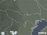 2020年06月25日の東京都の雨雲レーダー