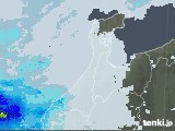 2020年06月25日の石川県の雨雲レーダー