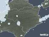 2020年06月25日の徳島県の雨雲レーダー