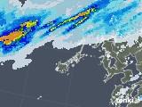 2020年06月25日の長崎県(五島列島)の雨雲レーダー