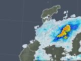 2020年06月26日の石川県の雨雲レーダー