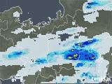 2020年06月26日の滋賀県の雨雲レーダー