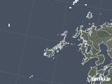 2020年06月26日の長崎県(五島列島)の雨雲レーダー