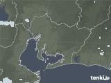 2020年06月27日の愛知県の雨雲レーダー