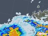 2020年06月27日の長崎県(五島列島)の雨雲レーダー