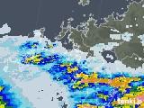 2020年06月27日の長崎県の雨雲レーダー