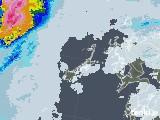 2020年06月29日の長崎県(五島列島)の雨雲レーダー