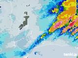 2020年06月30日の愛知県の雨雲レーダー