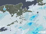 2020年06月30日の京都府の雨雲レーダー