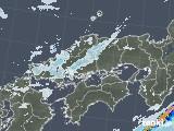 2020年07月01日の中国地方の雨雲レーダー