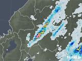 2020年07月01日の岐阜県の雨雲レーダー