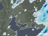 2020年07月01日の愛知県の雨雲レーダー