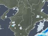 2020年07月01日の奈良県の雨雲レーダー