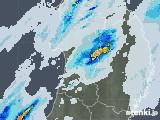 2020年07月01日の秋田県の雨雲レーダー