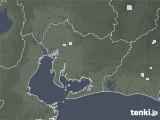 2020年07月02日の愛知県の雨雲レーダー