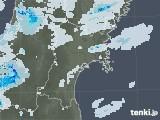 2020年07月02日の宮城県の雨雲レーダー