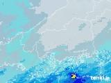 2020年07月03日の広島県の雨雲レーダー
