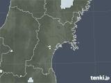 2020年07月03日の宮城県の雨雲レーダー