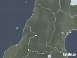 2020年07月03日の山形県の雨雲レーダー