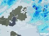 2020年07月04日の愛知県の雨雲レーダー