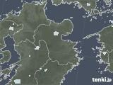 2020年07月04日の大分県の雨雲レーダー