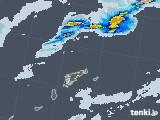 2020年07月04日の鹿児島県(奄美諸島)の雨雲レーダー